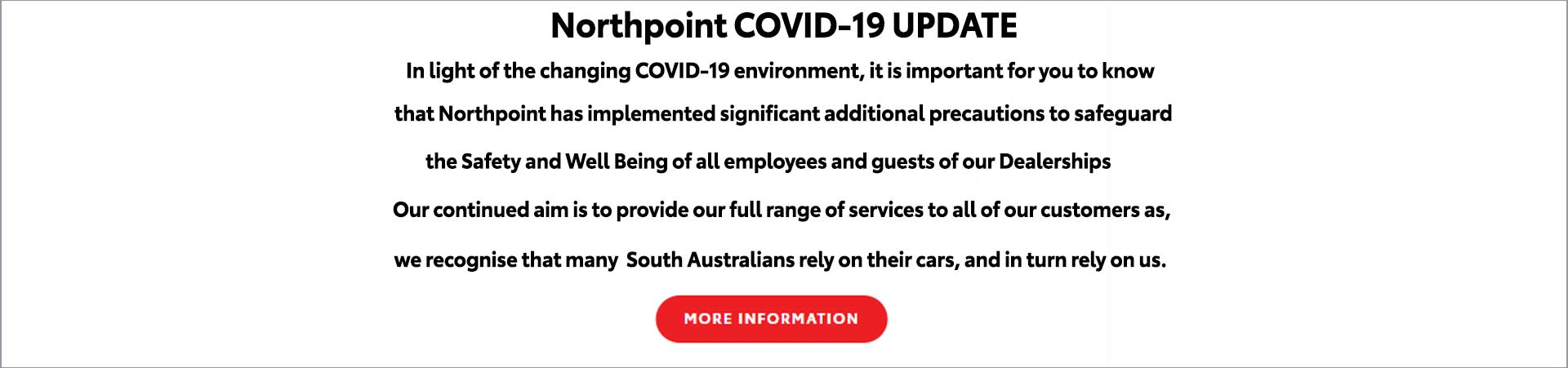 Northpoint COVID-19 Information